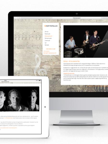 Website for 112 Partypatruljen