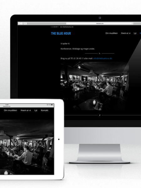 Website for The Blue Hour
