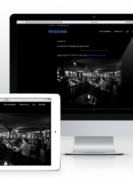 Website for The Blue Hour